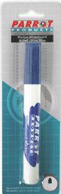 Parrot Whiteboard Marker Bullet Tip - Dark Blue (Blister 1)