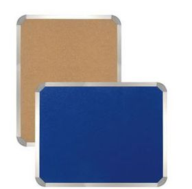 Parrot Information Board Aluminium Frame - Royal