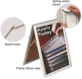 Parrot Poster Frame Sandwhich - A0