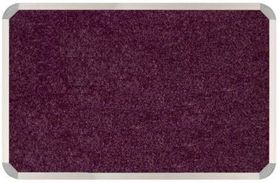 Parrot Aluminium Frame Bulletin Board - Tropical Maroon (900mm x 900mm)