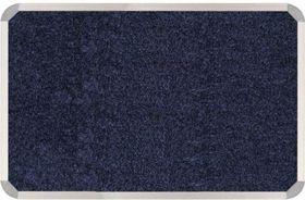 Parrot Aluminium Frame Bulletin Board - Denim Blue (1200mm x 900mm)