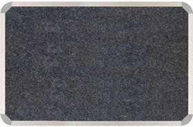 Parrot Aluminium Frame Bulletin Board - Laurel Grey (1000mm x 1000mm)