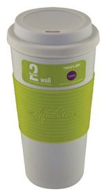 Neoflam Double Walled Travel Mug Green - 500ml