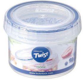 Lock and Lock Round Twist Container - 150 ml