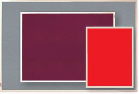 Parrot Info Board Plastic Frame 906mm - Red