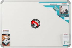 Parrot Whiteboard Magnetic - White 1800 x 900mm