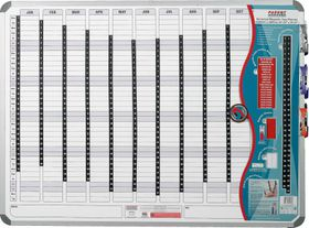 Parrot Perpetual Year Planner - 2400mm x 1200mm
