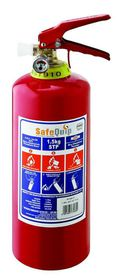 Safe-Quip - 1.5Kg Dcp Fire Extinguisher With Bracket - Red