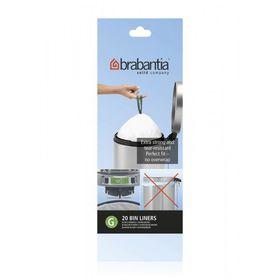 Brabantia - Bin Liners 30 Litre - Pack Of 20