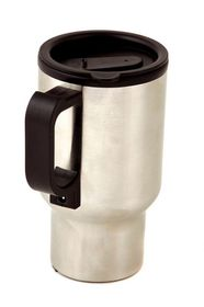 LeisureQuip - 500Ml Stainless Steel Coffee Warmer & Travel Mug - 12 Volt Dc