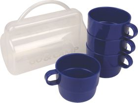 LeisureQuip - 4 Piece Camping And Picnic Cup Set