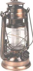 LeisureQuip - Antique Brass Lantern With Dimmer