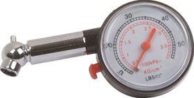 Moto-Quip - Tyre Pressure Gauge - Dial Type