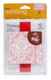 Cuttlebug Anna Griffin Embossing Folder & Border A2 - Juliet Damask