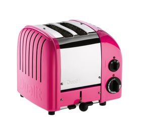 Dualit 2 Slice Classic Toaster - Chilli Pink