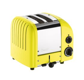 Dualit 2 Slice Classic Toaster - Citrus Yellow