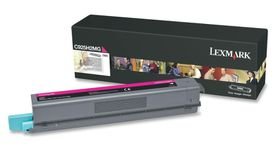 Lexmark C925H2MG High Yield Laser Toner Cartridge - Magenta