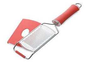 Maxwell and Williams - Stainless Steel Fine Ribbon Grater - Red