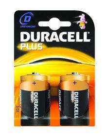 Duracell Plus Power D Size Batteries