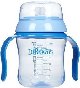 Dr.Brown's - 170ml Soft Spout Training Cup - Blue
