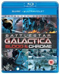 Battlestar Galactica Blood and Chrome (Import Blu-ray Disc)