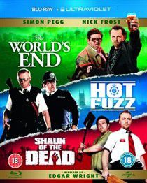 The World's End / Hot Fuzz / Shaun of the Dead (Import Blu-ray)