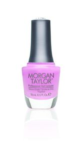 Morgan Taylor Nail Lacquer - Make Me Blush (15ml)