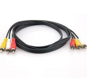 VCOM 3RCA M to 3RCA M Cable (CV033) - 1.8m