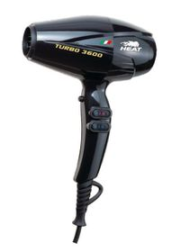 Heat Turbo 3600 Hairdryer - Black