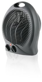 Mellerware - Heater Floor Fan 2000 Watt - Graphite