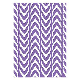 "Couture Creations The Harmony 5 x 7"" Embossing Folder – Weaved"