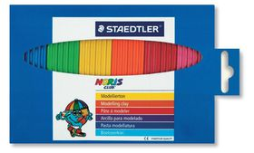 Staedtler Noris Club Modelling Clay - 6 Colours