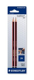 Staedtler Tradition 2H Pencils - 2 Pack