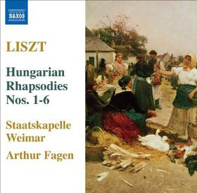 Hungarian Rhapsodies 1-6 - Various Artists (CD)