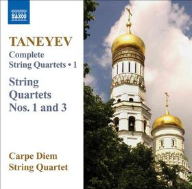 Taneyev:String Qts No 1 & 3 Comp Vol - (Import CD)