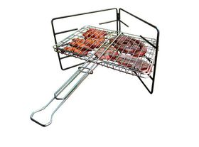 LK's - Hinged Grid Stand - Mild Steel - 8.0mm