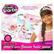Shimmer N Sparkle Flower Hair