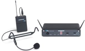 Samson Concert 88 Headset 16-Channel UHF Wireless System - Black