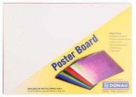 Donau Project Board A4 - Bright Orange (Pack of 100)