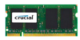 Crucial DDR2 667 SO-Dimm Memory for Apple Mac Systems - 2GB