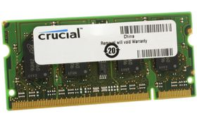 Crucial 2GB 1600MHz DDR3 SO-DIMM Laptop Memory
