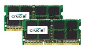 Crucial 8GB (2x4 GB) DDR3 1066MHz MAC SO-Dimm Memory Upgrade Kit