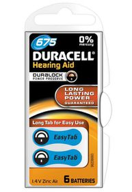 Duracell EasyTab Hearing Aid Battery Size 675