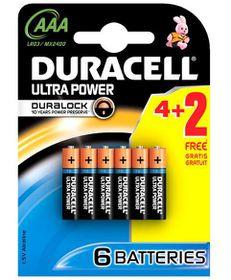 Duracell Ultra Power Alkaline AAA Batteries
