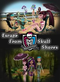 Monster High: Escape From Skull Shores (DVD)
