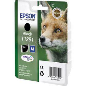Epson Singlepack Black T1281 DURABrite Ultra Ink