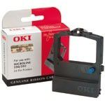 OKI Black Nylon Ribbon ML590/591, NON-EU