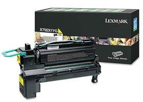 Lexmark X792 Yellow Extra High Yield Return Programme Print Cartridge (20K)