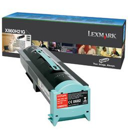 Lexmark High Yield Toner Cartridge, Black
