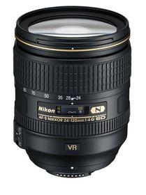 Nikon 24-120mm F/4G AF-S VR Lens